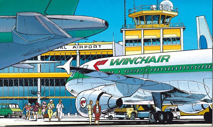 Fluglinie Winchair
